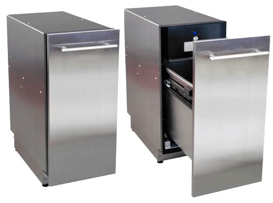 Compacteur MC 400 pour déchets d'emballages et boites métalliques