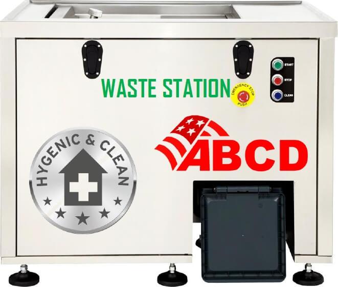 Station de déchets réduction jusqu'à 80% du volume de déchets | ABCD